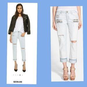 Paige Porter BF Aiden Dest Jeans Size 29